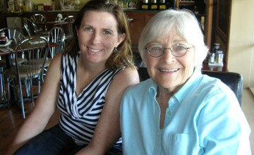 """Great fellowship. Great food.  Great time."" Barbara Japenga and Jo Schoenhardt"